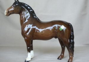 Beswick Welsh Cob Brown Horse Figurine 1793